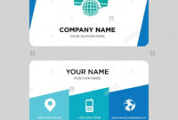 International Calling Service Business Card Design Template regarding Template For Calling Card