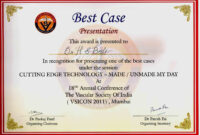 International Conference Certificate Templates for Conference Participation Certificate Template