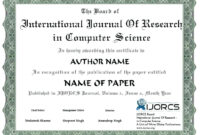 International Conference Certificate Templates – Shev in International Conference Certificate Templates