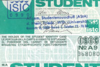 International Student Identity Card – Wikiwand for Isic Card Template