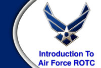 Introduction To Air Force Rotc – Ppt Download with Air Force Powerpoint Template