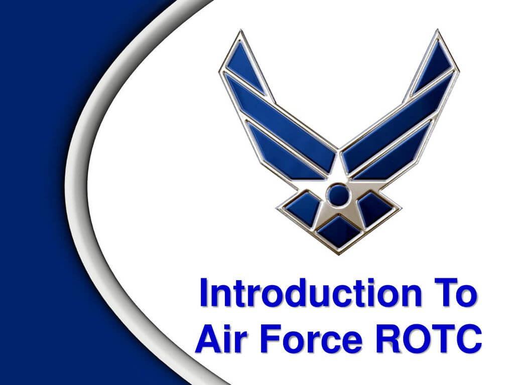Introduction To Air Force Rotc - Ppt Download With Air Force Powerpoint Template