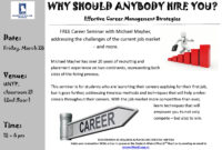 Invitation To A Free Career Seminarmichael Mayher for Seminar Invitation Card Template