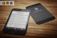 Iphone 6 (35% Off) Business Cardjigsawlab On Creative for Iphone Business Card Template