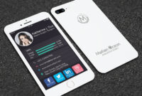 Iphone Business Card – Forza.mbiconsultingltd regarding Iphone Business Card Template