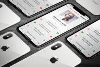 Iphone X Business Card #bleed#dpi#li#features | Business regarding Iphone Business Card Template