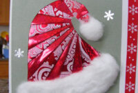 Iris Folded Santa Hat 인터넷카지노게임방법◁Polo416 with regard to Iris Folding Christmas Cards Templates