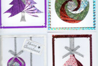 Iris Folding Christmas Cards Templates] Hand Made And for Iris Folding Christmas Cards Templates