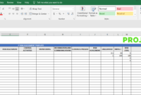 It Risk Assessment Template – Free Excel Download for Risk Mitigation Report Template