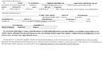 Italian Civil Death Document Translation Genealogy throughout Death Certificate Translation Template