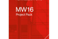 Jct Mw16 Project Pack pertaining to Practical Completion Certificate Template Jct