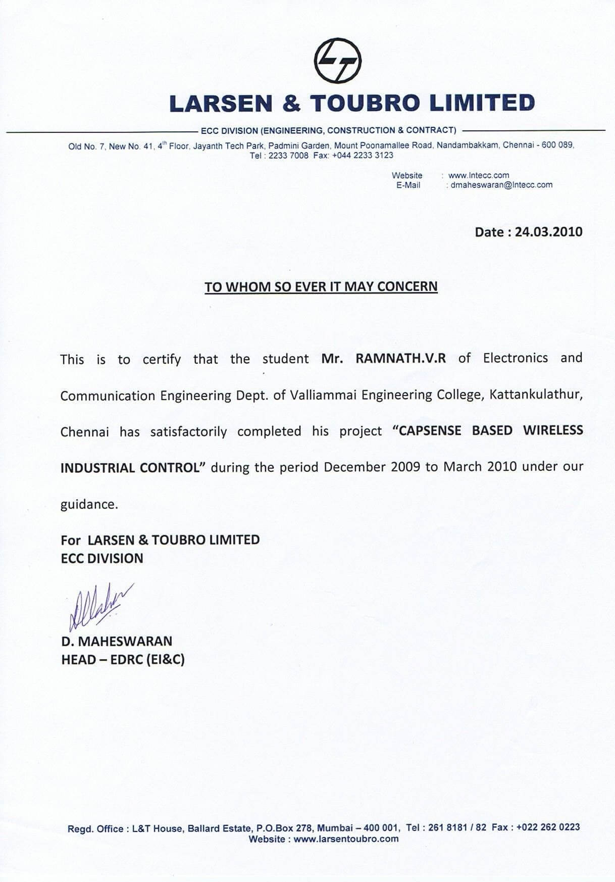 Job Experience Letter Valid Example Certificate Job Inside Certificate Of Experience Template