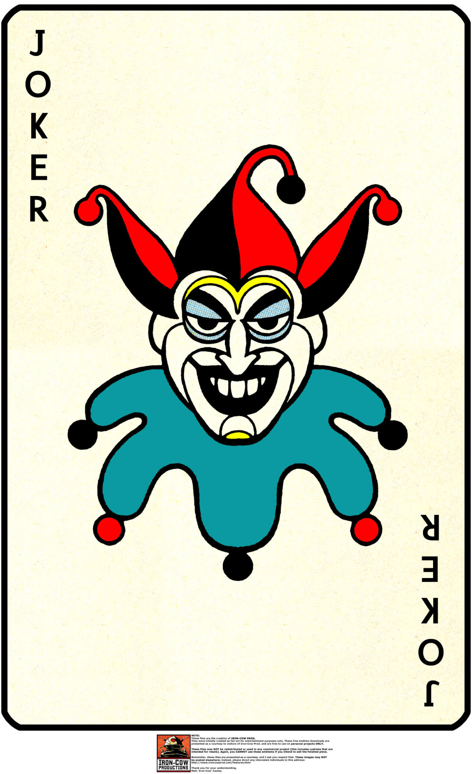 Joker Card Drawing At Getdrawings | Free For Personal With Regard To Joker Card Template