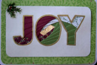 Joy Christmas Card : Iris Folding | Iris Paper Folding, Iris for Iris Folding Christmas Cards Templates