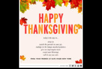 Kate Spade Email Marketing Thanksgiving Card Nov 2013 inside Holiday Card Email Template