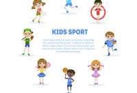 Kids Sport Banner Template With Space For Text inside Sports Banner Templates