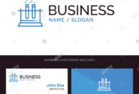 Lab, Test, Tube, Science Blue Business Logo And Business with Pharmacology Drug Card Template