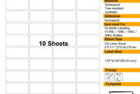 Label Sheet Template Spreadsheet Examples 24 Per Address A4 inside 8 Labels Per Sheet Template Word