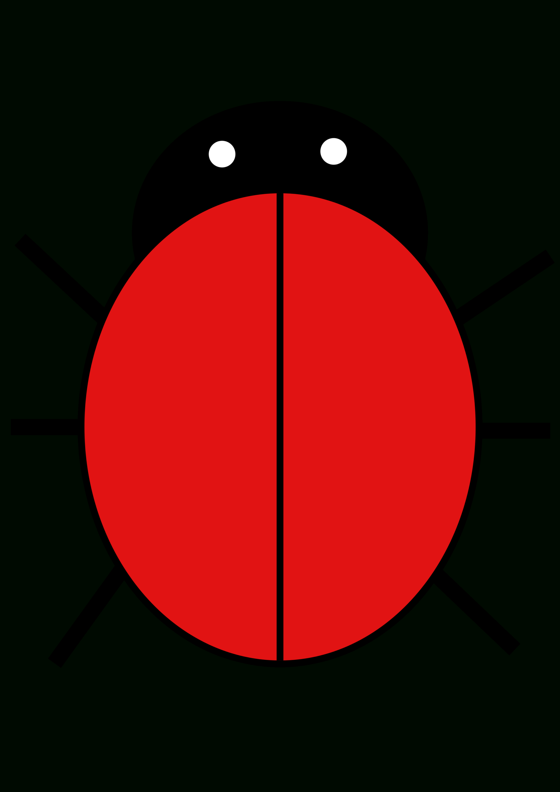 Ladybird | Free Images At Clker - Vector Clip Art Online Pertaining To Blank Ladybug Template