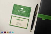 Landscaping Business Card Template inside Landscaping Business Card Template
