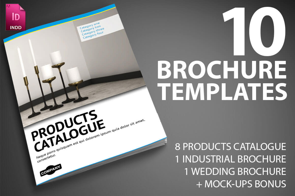 Last Day: 10 Professional Indesign Brochure Templates From With Brochure Templates Free Download Indesign