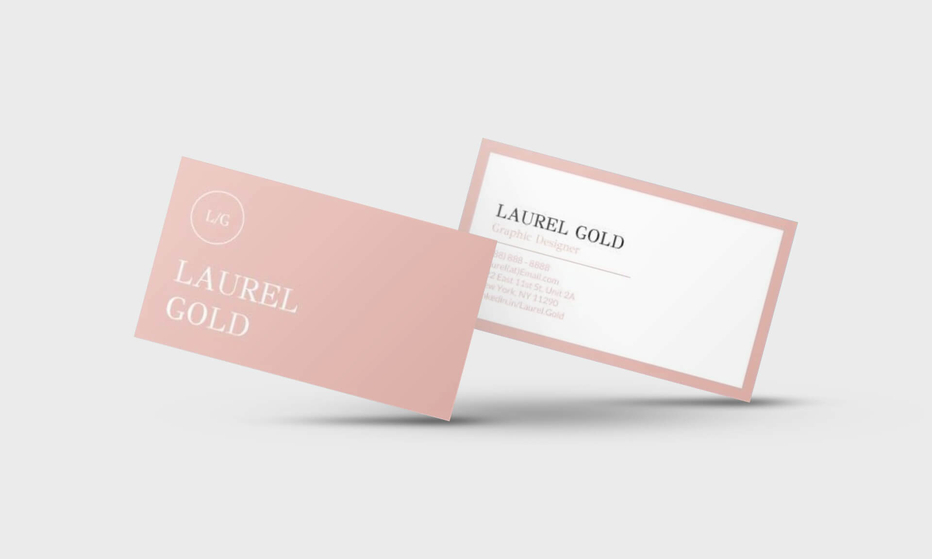 Laurel Gold Google Docs Business Card Template - Stand Out Shop Intended For Business Card Template For Google Docs