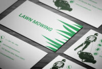 Lawn Mower Business Card – Full Preview | Free Business Card in Lawn Care Business Cards Templates Free