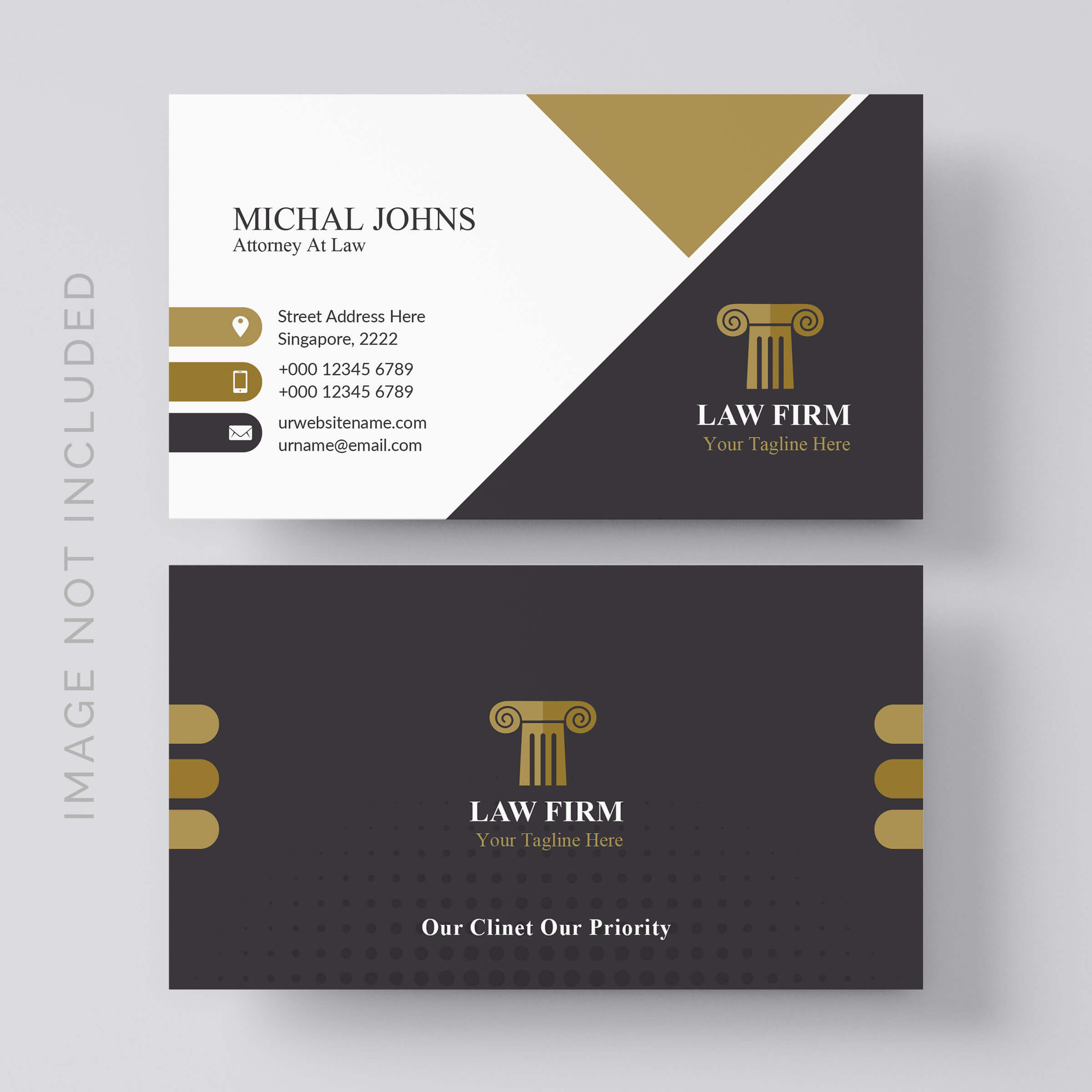 Lawyer Business Card Free Vector Art – (7 Free Downloads) With Regard To Lawyer Business Cards Templates