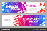 Layout Banner Template Design For Sport Event 2019 — Stock throughout Event Banner Template