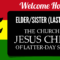 Lds Missionary Banner Template – Fully Customizable & Free Regarding Welcome Banner Template