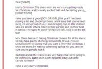 Letter From Santa Template | E-Commercewordpress for Letter From Santa Template Word