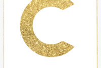 Letter Template For Banners – Gold Letter S Banner, Hd Png with Free Letter Templates For Banners