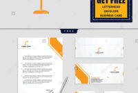 Light Interior Logo Template, Vector Illustration And throughout Business Card Letterhead Envelope Template