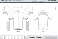 Limkoo within Blank Cycling Jersey Template