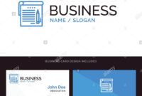 Logo And Business Card Template For Student, Notes, Note inside Student Business Card Template