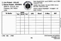 Logprint Label Suggestions within Qsl Card Template
