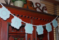 Lots Of Baby Shower Banner Ideas (+ Decorations) in Diy Baby Shower Banner Template