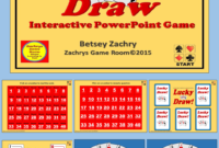 Lucky Draw Is A Fun Interactive Educational Powerpoint Game inside Powerpoint Template Games For Education