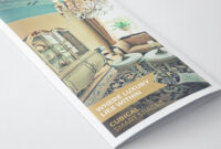 Luxurious Hotel Pamphlet Design Template | Pamphlet Design pertaining to Hotel Brochure Design Templates