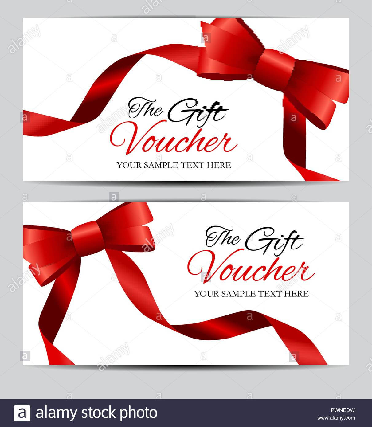 Luxury Members, Gift Card Template For Your Business Vector Throughout Present Card Template