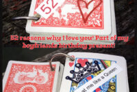 Made My Boyfriend A 52 Reasons Why I Love You Card Book regarding 52 Reasons Why I Love You Cards Templates Free