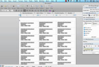 Mail Merge For Mac – Labels – Office 2008 | Address Label with How To Create A Mail Merge Template In Word 2010