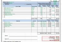 Maintenance Repair Job Card Template – Microsoft Excel regarding Mechanics Job Card Template