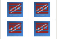 Make Flash Cards Using Ms Word within Queue Cards Template