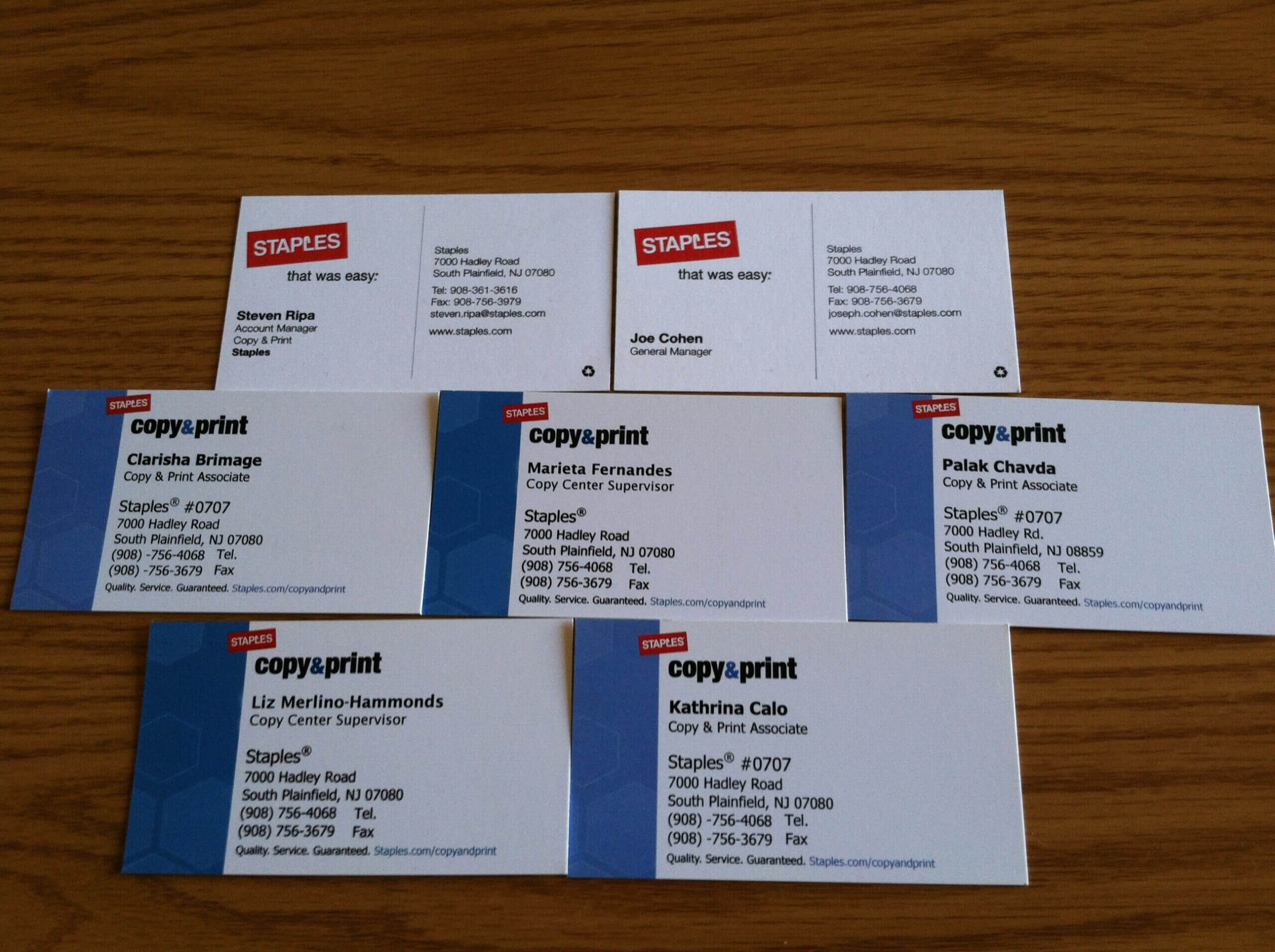 Make Your Custom Blank Business Card Template Staples For Staples Business Card Template