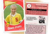 Make Your Own Soccer Card regarding Soccer Trading Card Template