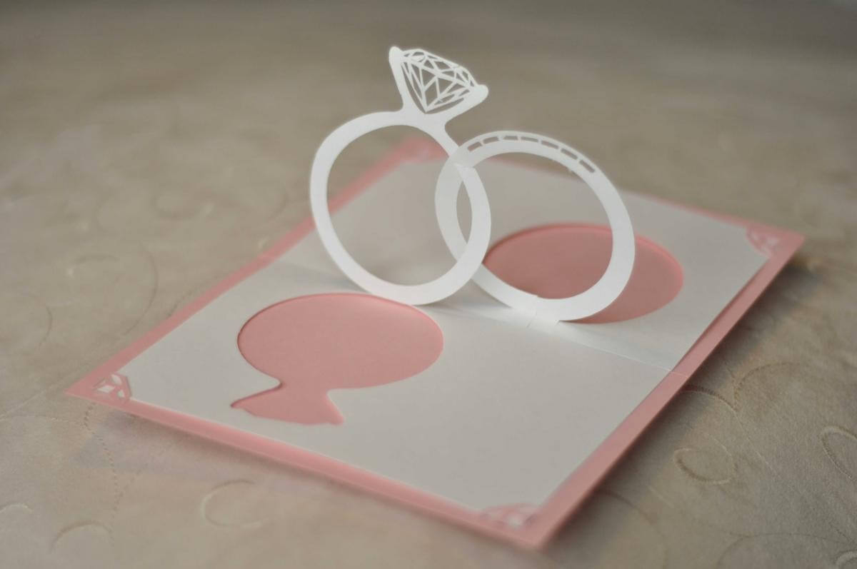 Make Your Wedding Invitations Pop With 3D Effect   Arabia In Wedding Pop Up Card Template Free
