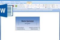 Making Free Business Card Beautiful Business Card Template with Microsoft Word Place Card Template