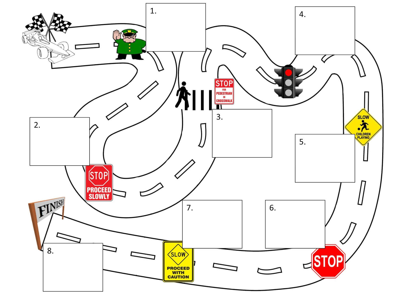 Map Clipart Template Pertaining To Blank Road Map Template