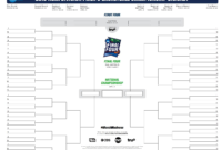 March Madness Bracket Printable – Zimer.bwong.co in Blank March Madness Bracket Template